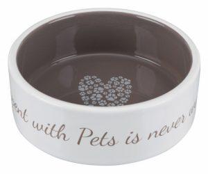 Keramikskål stor Pets-Home choklad