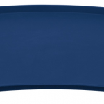 Matskålsunderlägg silikon blå