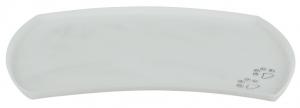 Matskålsunderlägg silikon transparant