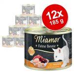 Miamor Feine Beute 12 x 185 g - Nötkött