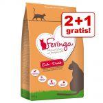 Passa på! 400 g Feringa torrfoder på köpet! - Adult Kyckling & öring kattfoder