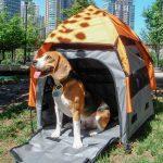 PetEgo® UPet Tent mobil bur - Stl. M: B 75 x T 75 x H 80 cm