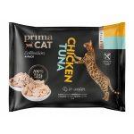 Prima Cat Tonfisk med Kyckling i Gelé 4 x 50 g