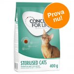 Provpack: 400 g Concept for Life - Sensitive Cats