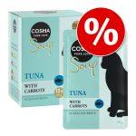 Rabattpris på Cosma Soup 12 x 40 g! Tonfisk & kyckling med sötpotatis