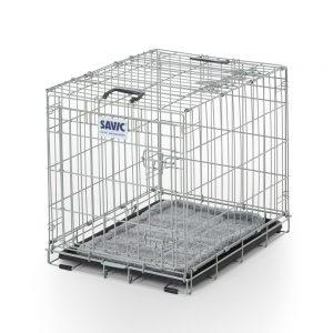 Savic Dog Residence med kudde - Storlek M: B 61 x T 91 x H 71 cm
