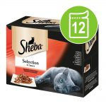 Sheba 12 x 85 g portionspåsar - Fish in Jelly