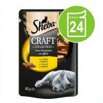 Sheba Craft Collection 24 x 85 g - Fjäderfävarianter