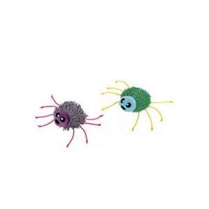 Spindel med kattmynta i plych