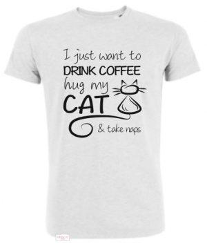 Supercat tshirt unisex Ljusgrå