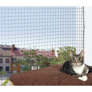 Trixie Kattnät Svart 6x3 m
