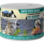 Tundra Cat Duck Turkey Pheasant 6 x 200 g