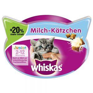 Whiskas Milk-Kittens + 20 % mer innehåll - Ekonomipack: 6 x 66 g
