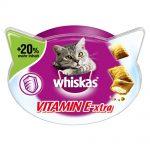 Whiskas Vitamin E-Xtra + 20 % mer innehåll - 72 g
