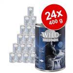 Wild Freedom Adult 12 x 400 g - Cold River - Pollock & Chicken