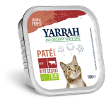 Yarrah Organic Cat Beef & Chicken Paté Grain Free