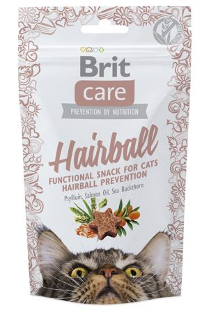 Cat Snack Hairball (med anka)