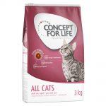 Concept for Life All Cats Bonuspåse 10 + 2 kg på köpet