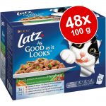 Ekonomipack: Latz ''''As good as it looks'''' 48 x 100 g - Senior