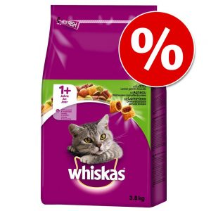 Ekonomipack: Whiskas torrfoder 1+ Kyckling - (2 x 14 kg)