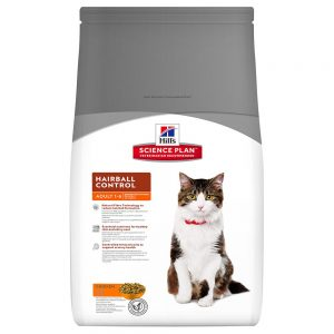 Hill's Science Plan Adult Hairball & Indoor Chicken Ekonomipack: 2 x 10 kg