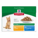 Hill's Science Plan Kitten 12 x 85 g- Poultry Selection