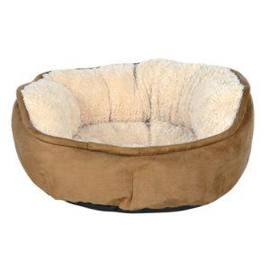 Kattbädd Othello brun/beige