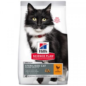 Science Plan Mature Sterilised Cat med Kyckling 10 kg
