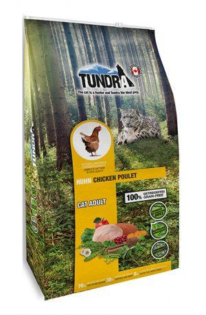 Tundra kattfoder kyckling 6,8 kg
