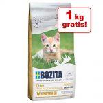 9 + 1 på köpet! 10 kg Bozita Feline kattfoder Large vetefri