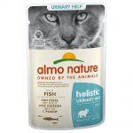 Almo Nature Holistic Urinary Help portionspåse - Blandpack: 3 x med fisk och 3 x med kyckling