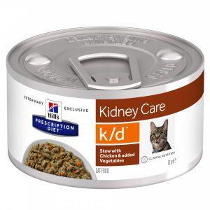 Diet K/D Feline Stew med Kyckling&Grönsaker