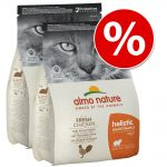 Ekonomipack: 2 x 2 kg / 4 x 2 kg / 2 x 12 kg Almo Nature Holistic - Oily Fish & Rice (2 x 12)