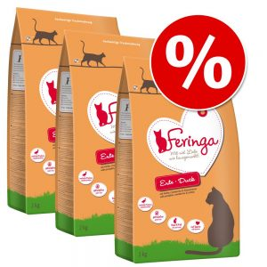 Ekonomipack: Feringa torrfoder 3 x 2 kg - Anka
