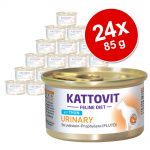 Ekonomipack: Kattovit Urinary (struvitsten) 24 x 85 g - Kalv