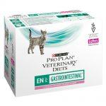 Purina Pro Plan Veterinary Diets Feline EN ST/OX Gastrointestinal Salmon - 10 x 85 g