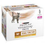 Purina Pro Plan Veterinary Diets Feline NF ST/OX - Renal Function Chicken - Ekonomipack: 20 x 85 g