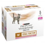 Purina Pro Plan Veterinary Diets Feline NF ST/OX - Renal Function Salmon - 10 x 85 g
