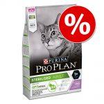 10 % rabatt på 3 kg Pro Plan kattfoder! Sterilised Adult Rabbit
