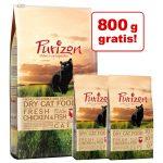 6,5 kg Purizon katt-torrfoder + 800 g på köpet! - Adult Duck & Fish