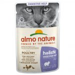 Almo Nature Holistic Digestive Help portionspåse - 12 x 70 g med fisk