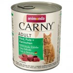 Animonda Carny Adult 6 x 800 g - Nötkött & kyckling