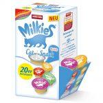 Blandpack Animonda Milkies Selection - 60 x 15 g Power, Happy, Passion & Adventure
