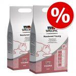 Ekonomipack: 2 eller 3 påsar Specific Cat till lågt pris! FRD Weight Reduction (3 x 1,6 kg)