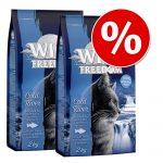 Ekonomipack: 3 x 2 kg Wild Freedom torrfoder Kitten Wide Country - Poultry