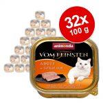 Ekonomipack: Animonda vom Feinsten Adult 32 x 100 g - Nötkött & potatis