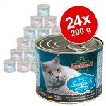 Ekonomipack: Leonardo All Meat 24 x 200 g - Blandpack 4 sorter
