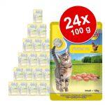 Ekonomipack: MAC's Cat Pouch 24 x 100 g - Rent kycklingkött