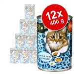 Ekonomipack: O'Canis for Cats 12 x 400 g - Kalkon, vaktel & laxolja