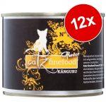 Ekonomipack: catz finefood Purrrr 12 x 200/190 g - No. 111 lamm (12 x 200 g)